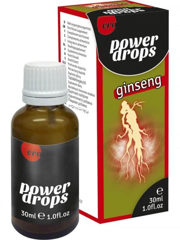 Πόσιμες σταγόνες Ginseng για καλύτερες επιδόσεις ero by HOT