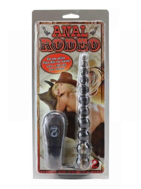 Πρωκτικά μπαλάκια σιλικόνης με δόνηση Anal Rodeo