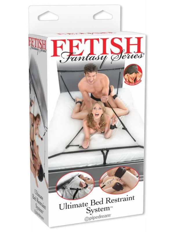 Δέσιμο για το κρεβάτι με πολλές επιλογές στάσης