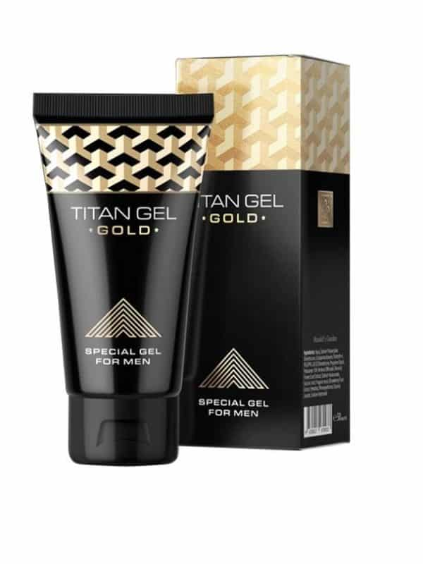 TITAN GEL GOLD 50ml hendel