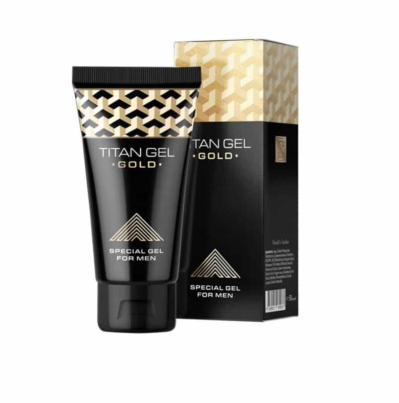 TITAN GEL GOLD 50ml hendel