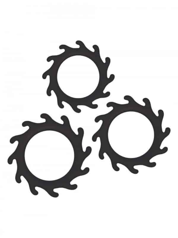 Σετ δαχτυλίδια πέους Gears Cock Rings