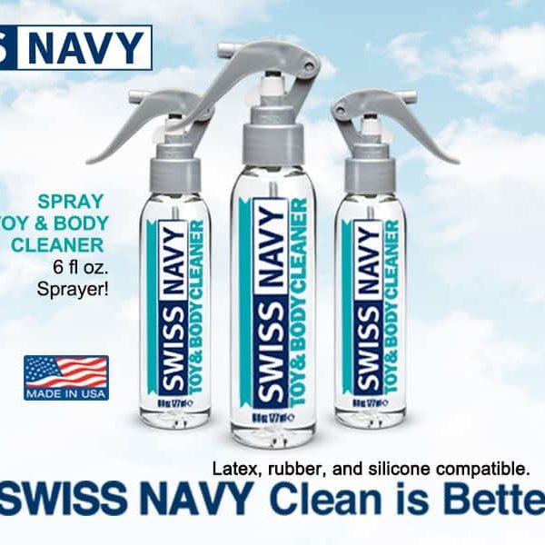 Απολυμαντικό Swiss Navy toy cleaner
