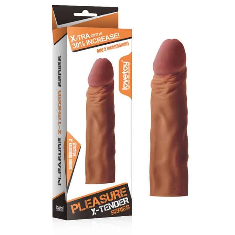 Προέκταση πέους Pleasure X-Tender Penis Sleeve