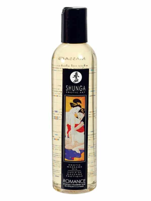 Λάδι μασάζ Erotic Massage Oil Champagne & Strawberry