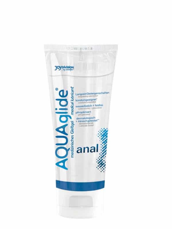 """Πρωκτικό λιπαντικό AQUAglide """"anal"""", 100 ml"""