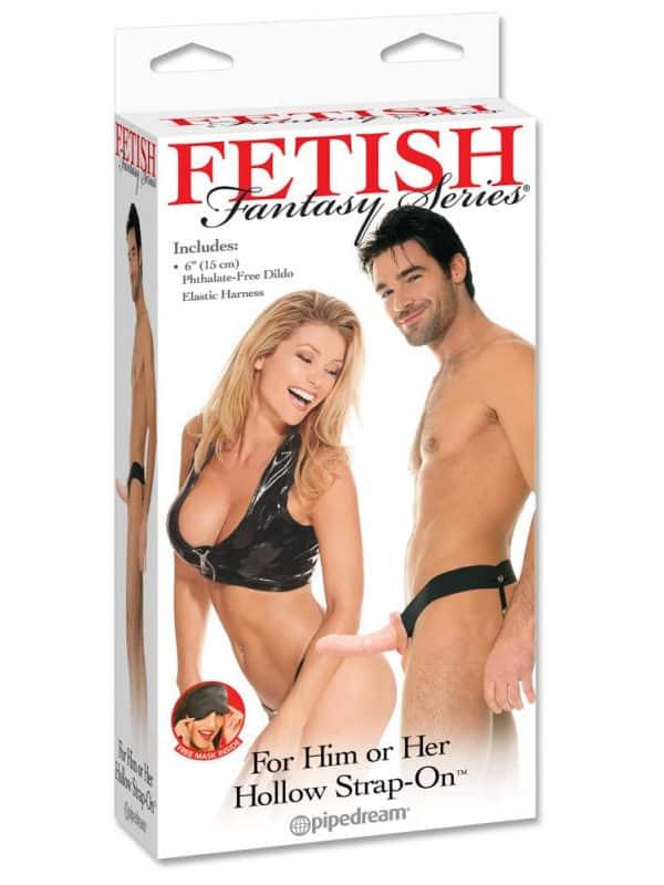 FF HOLLOW STRAP ON - FLESH