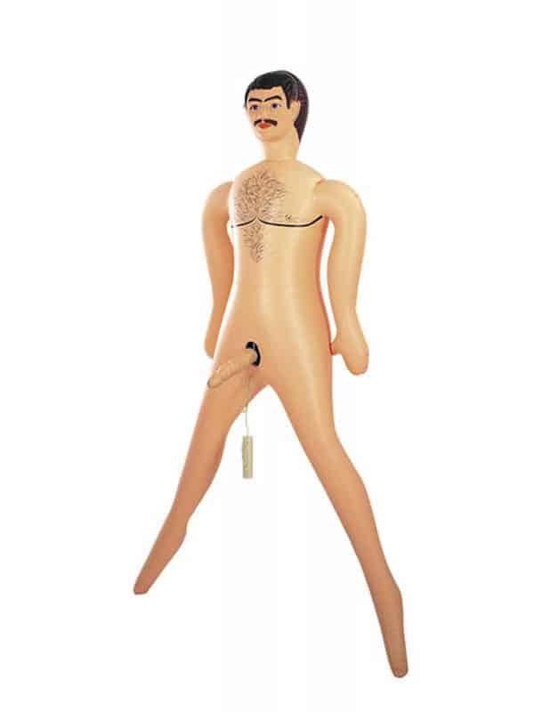 Big John PVC inflatable doll with penis