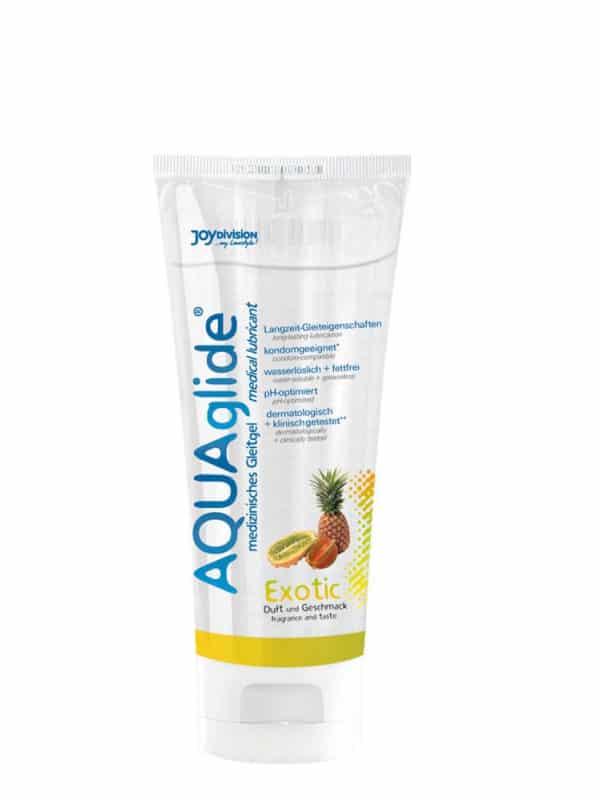 AQUAglide exotic Λιπαντικό με Γεύση εξωτικών φρούτων