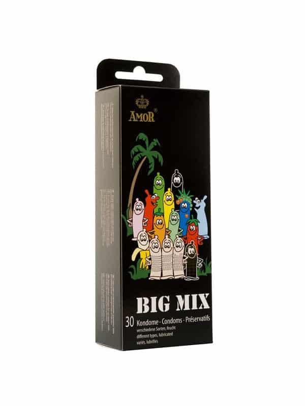 Διάφορα προφυλακτικά Amor big mix 30τμχ