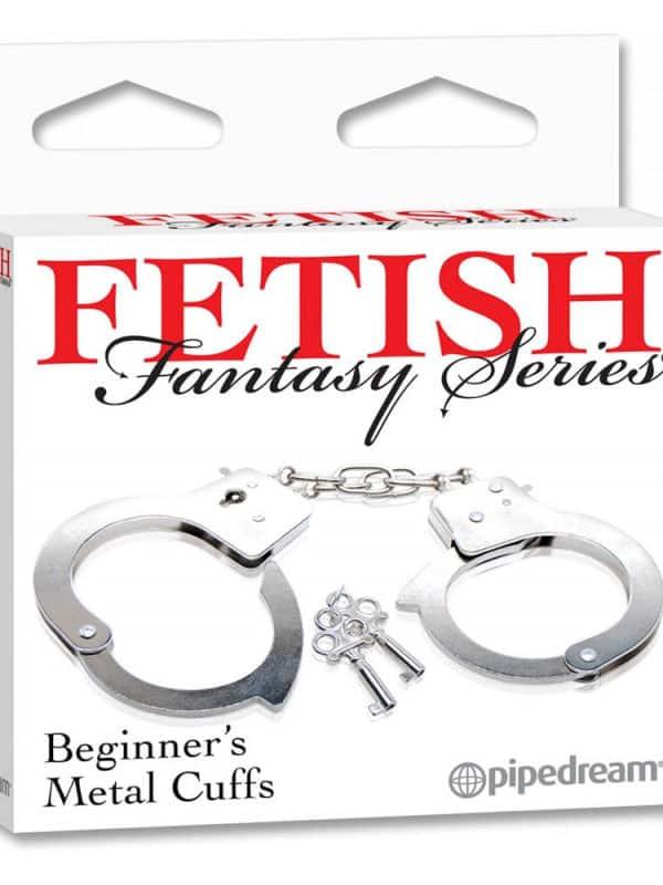 Beginner's Metal Cuffs Fetish Fantasy Series