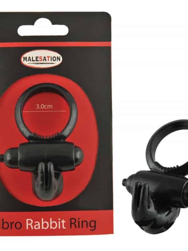 malesation-vibro-rabbit-ring-black