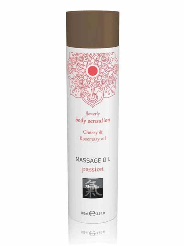 Massage oil passion - Cherry & Rosemary oil 100ml