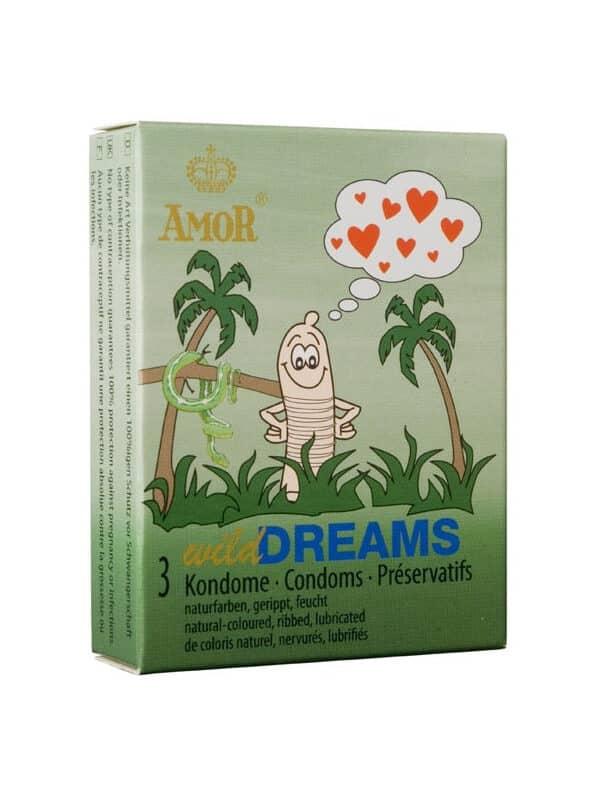 AMOR Wild Dreams / 3 pcs content προφυλακτικό