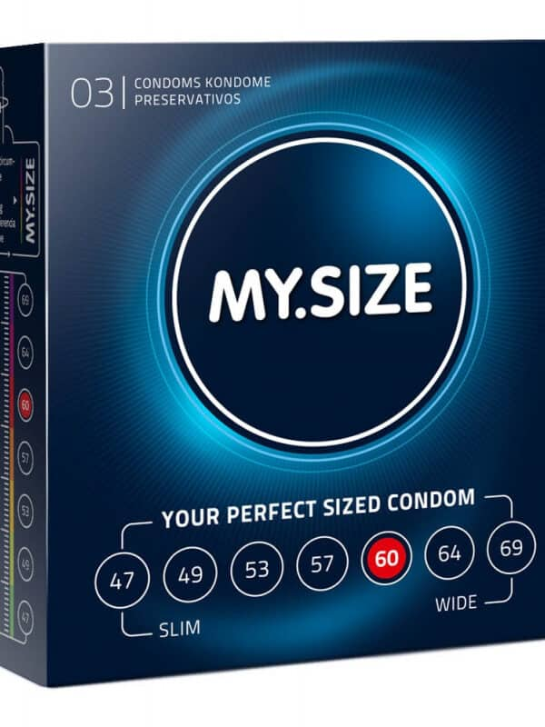 My size condoms 60 προφυλακτικά με μέγεθος