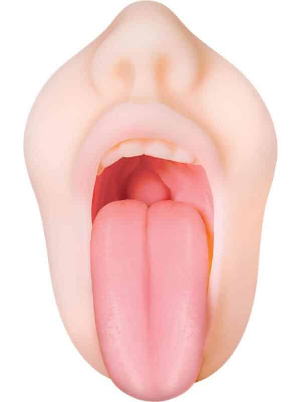 Ρεαλιστικό ομοίωμα γυναικείου στόματος αυνανιστήρι