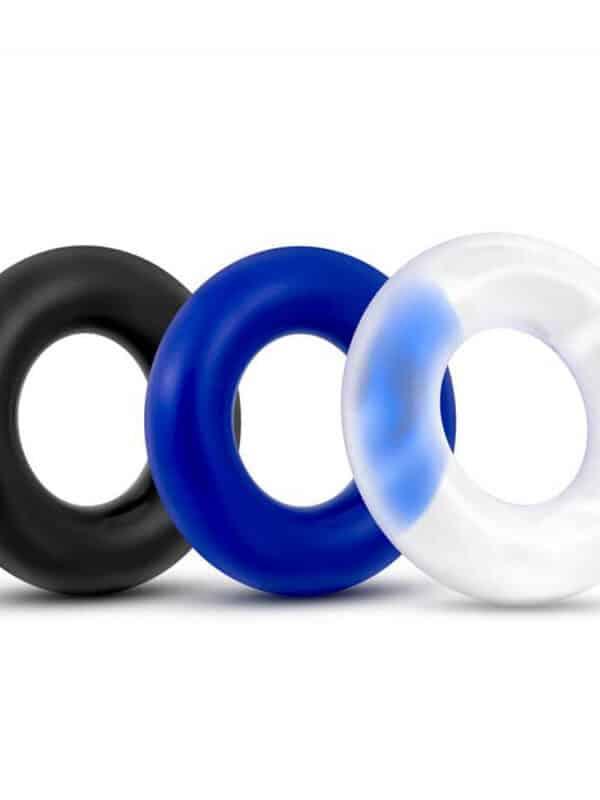 X-Basic Donut Rings 3 Pack δαχτυλίδια πέους