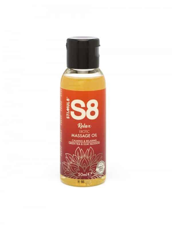 Πράσινο τσάι και άνθη κερασιάς λάδι μασάζ S8