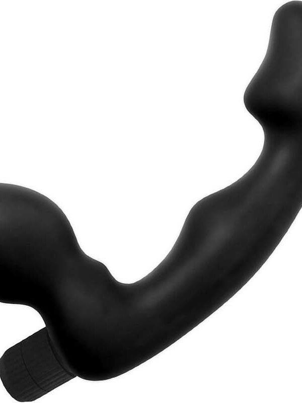 Straples dildo με δόνηση σιλικόνης strap-on