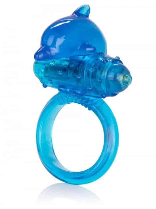 Δαχτυλίδι πέους One Touch Dolphin με δόνηση