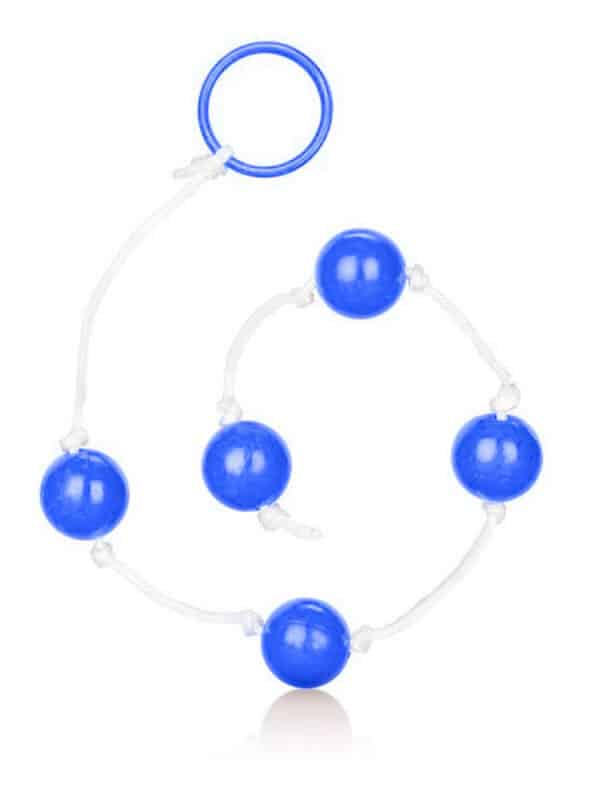 Anal Balls Clear Blue Large μπαλάκια