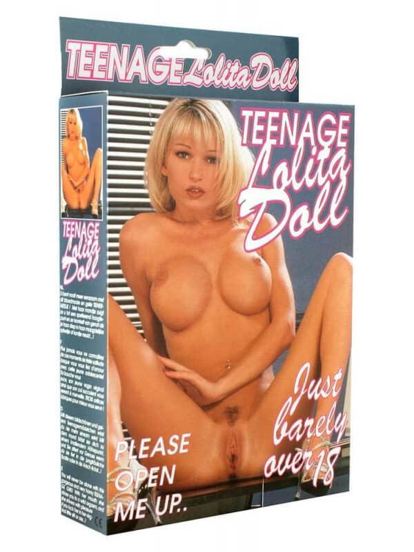 Teenage Lolita Doll Blond Hair κούκλα φουσκωτή