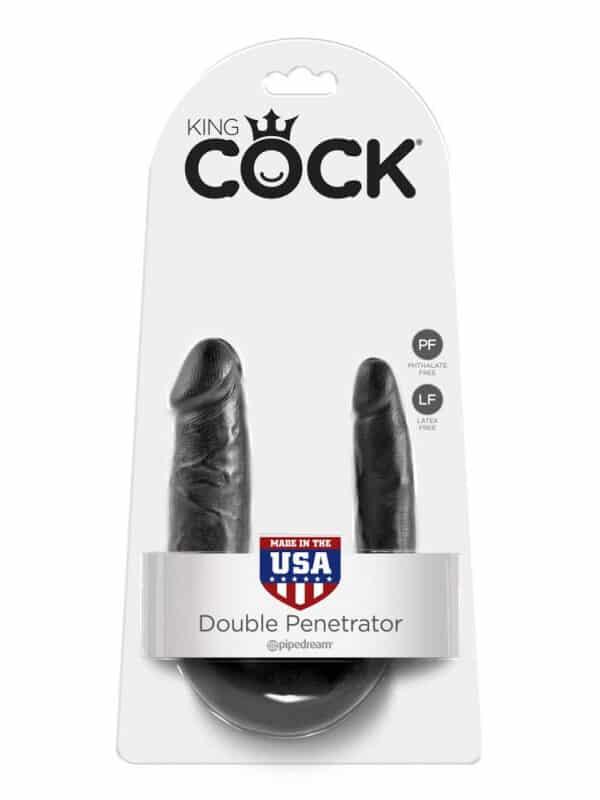 Διπλό πέος Dong μαλακό ευλύγιστο σιλικόνης