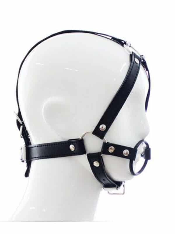 Head Harness Ring Gag φίμωτρο κεφαλής