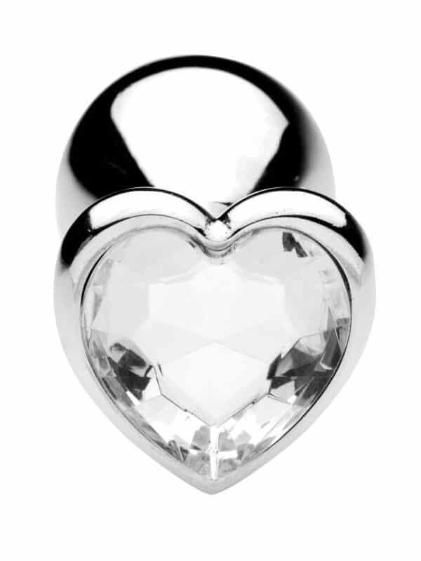 Σφήνα με διαμάντι σε σχήμα καρδιάς για κώλο