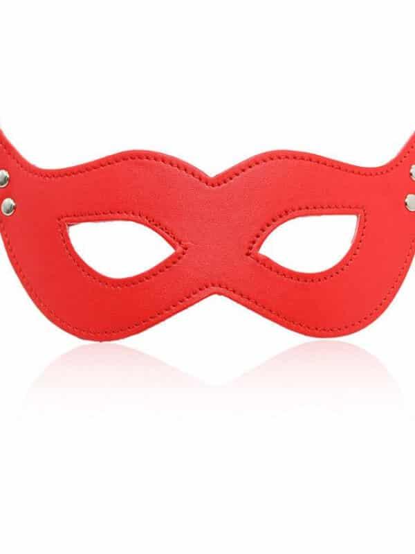 Batwoman κόκκινη μάσκα ματιών δερμάτινη