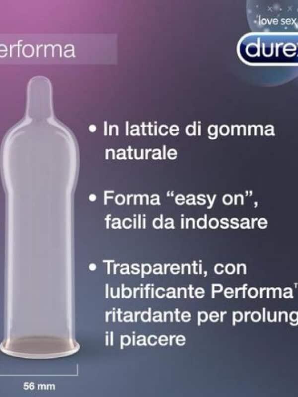 Durex προφυλακτικό καθυστέρησης performa intense