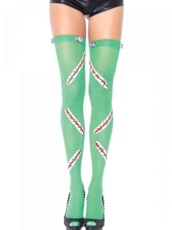 Frankie Thigh Highs κάλτσα πράσινη