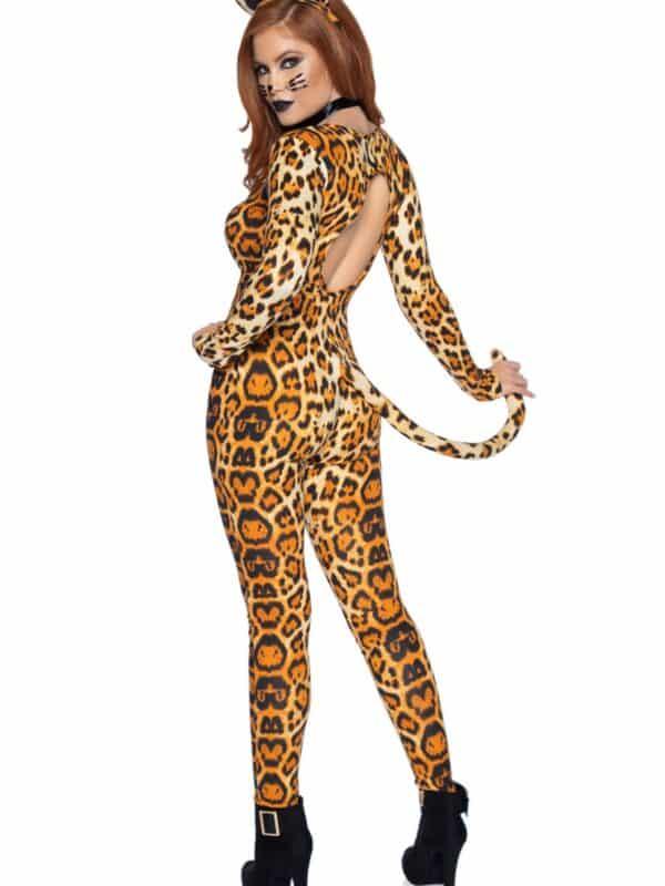 Στολή λεοπάρδαλη ολόσωμη Leg Avenue