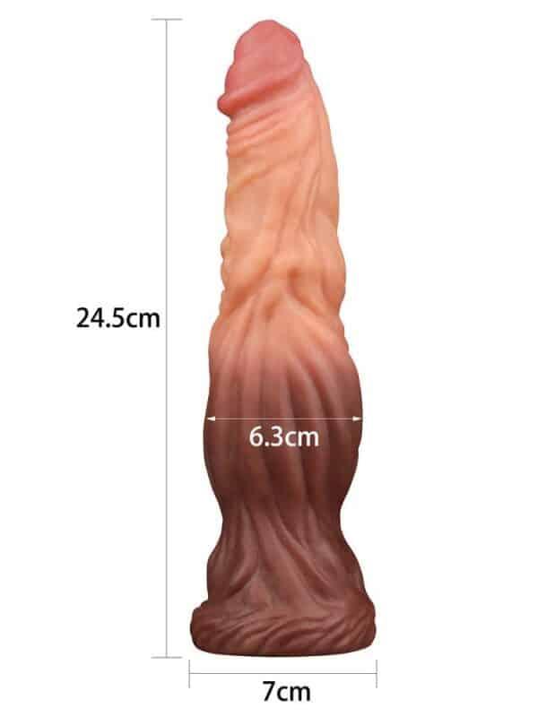 Liquid Silicone Nature Cock μεγάλο πέος σφήνα