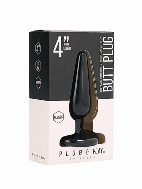 Butt Plug Basic 4 Inch Black