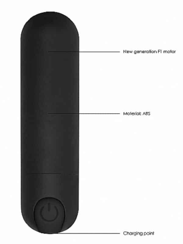 Rechargeable Bullet δονητής κλειτορίδας